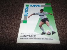 Luton Town v Dunstable, 1989/90 [BCPC]